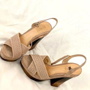 Schtuz high heel platform sandals